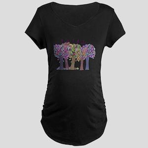 retired teacher Maternity Dark T-Shirt