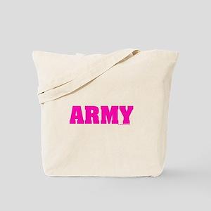 Army Pink Tote Bag