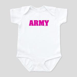 Army Pink Infant Bodysuit