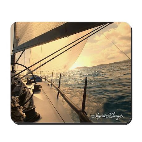 Sunset Sailing Mousepad