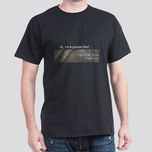 Hi, I'm a person too! Dark T-Shirt