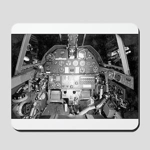 P-40 Cockpit Mousepad