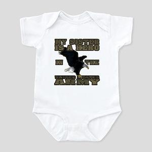 Army Hero Sister Infant Bodysuit
