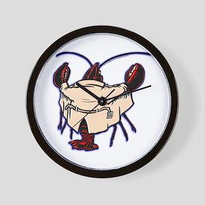 Lobster Flash Wall Clock