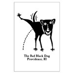 The Bad Black Dog Large Poster