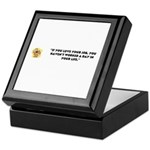 Love Your Work Keepsake Box