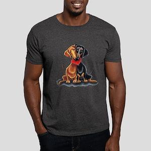 Smooth Dachshund Lover Dark T-Shirt