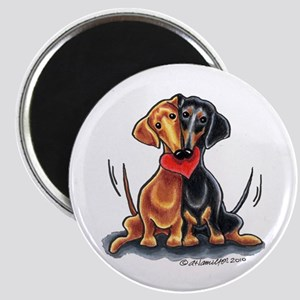 Smooth Dachshund Lover Magnet