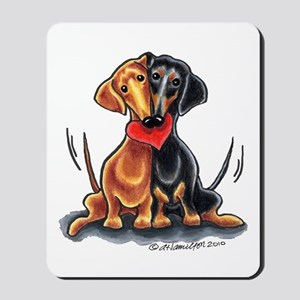 Smooth Dachshund Lover Mousepad