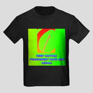 KEEP CAPITAL PUNISHMENT Kids Dark T-Shirt