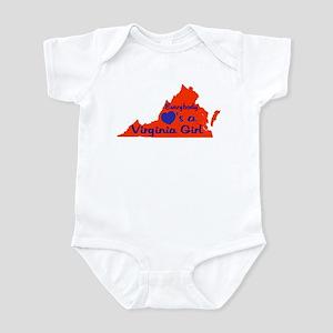 Everybody Loves a VA Girl (ON Infant Bodysuit