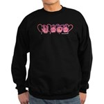 ILY Mom Hearts Sweatshirt (dark)