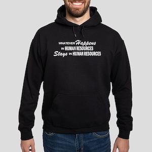 Whatever Happens - Human Resources Hoodie (dark)