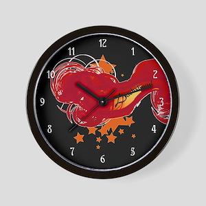 Hot Dachshund Wall Clock