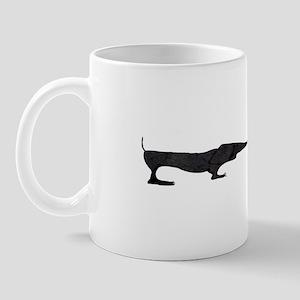 Deco Paper Dachshunds Mug