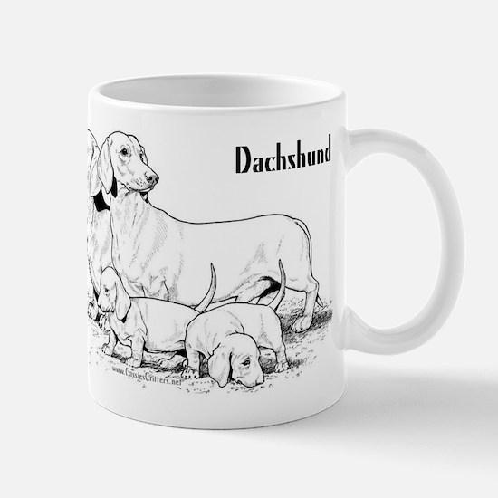 Dachshund Family Mug