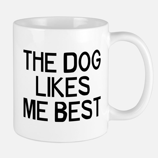 The Dog Likes Mug