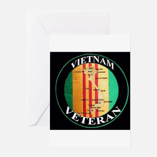 vietnam veteran Greeting Card