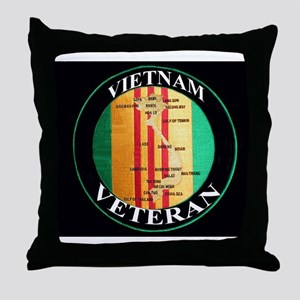 vietnam veteran Throw Pillow