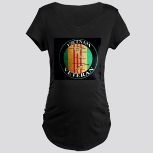 vietnam veteran Maternity Dark T-Shirt