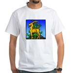White Capricorn T-Shirt