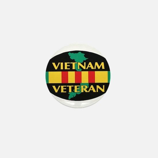 Vietnam Veteran Mini Button