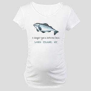 Long Island Bass Maternity T-Shirt