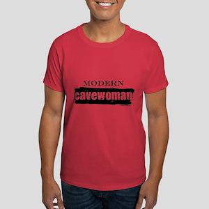 Modern cavewoman, paleo Dark T-Shirt