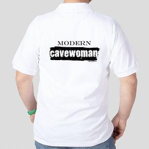 Modern cavewoman, paleo Golf Shirt