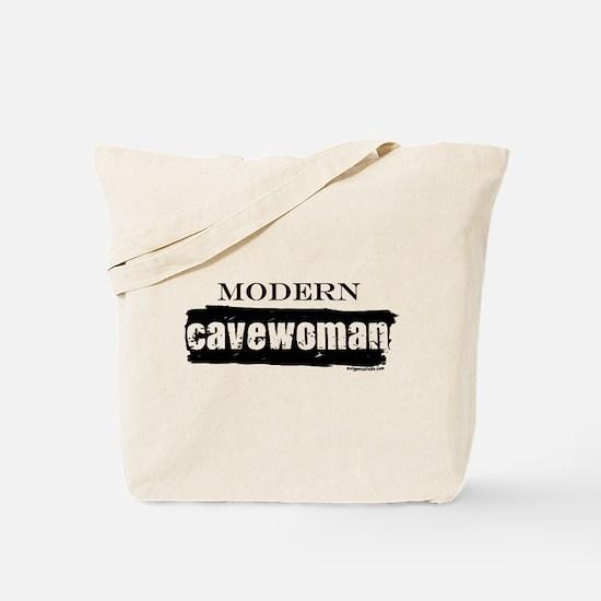 Modern cavewoman, paleo Tote Bag