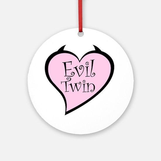 Evil Twin Ornament (Round)