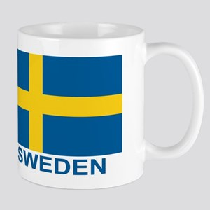 Swedish Flag (w/title) Mug