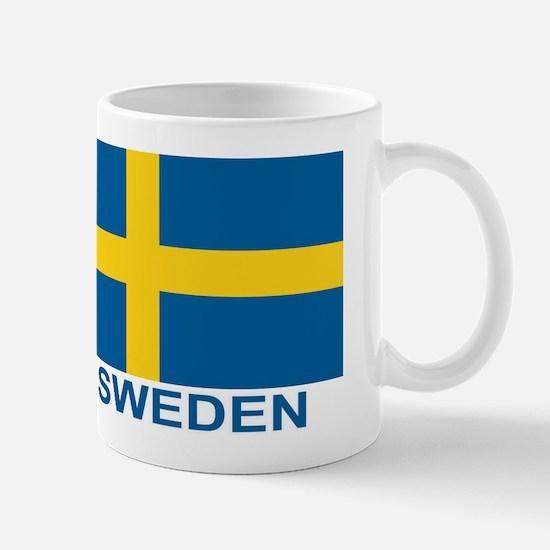 Swedish Flag (w/title) Mug