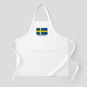 Swedish Flag (w/title) Apron