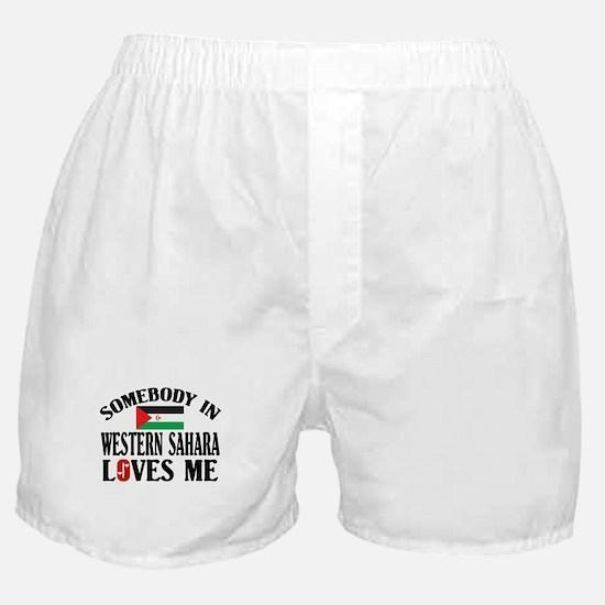 Somebody In Western Sahara Boxer Shorts