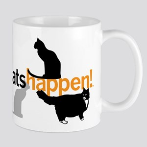 Cats Happen! Mug