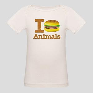 I Eat Animals Meat Food Organic Baby T-Shirt