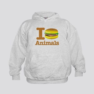 I Eat Animals Meat Food Kids Hoodie