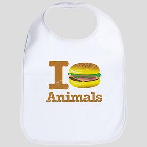I Eat Animals Meat Food Bib