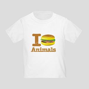 I Eat Animals Meat Food Toddler T-Shirt