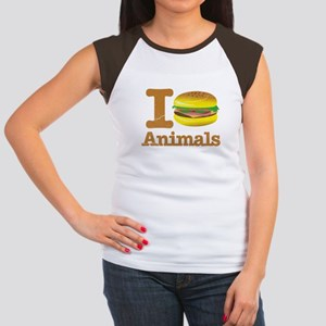 I Eat Animals Meat Food Women's Cap Sleeve T-Shirt