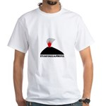 Eyjafjallajokull White T-Shirt