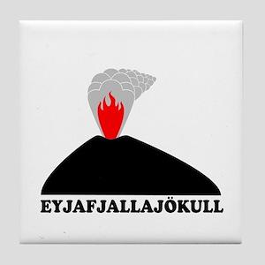 Eyjafjallajokull Tile Coaster