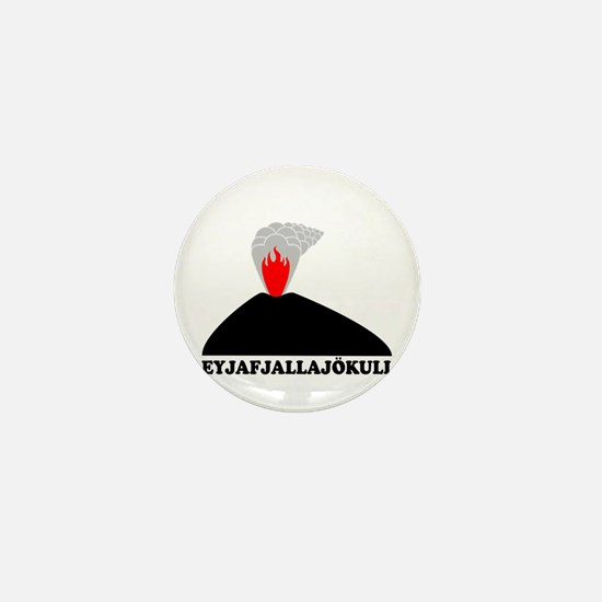 Eyjafjallajokull Mini Button