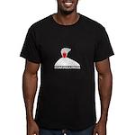 Eyjafjallajokull Men's Fitted T-Shirt (dark)