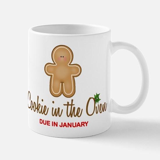 Due January Cookie Mug