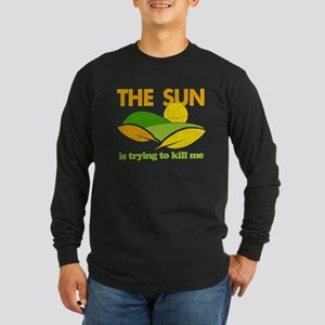 Sun Kill Me Environment Long Sleeve Dark T-Shirt