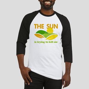 Sun Kill Me Environment Baseball Jersey