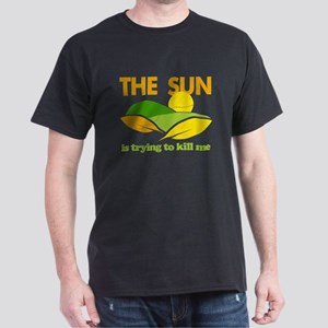 Sun Kill Me Environment Dark T-Shirt