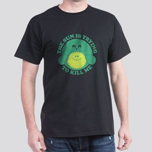 Environment Sun Killing Me Dark T-Shirt